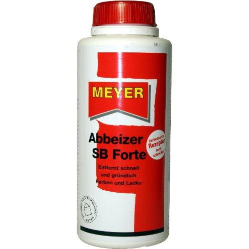 Abbeizer, Entlacker, Lacklöser, Lösungsmittel, 750 ml Gebinde, Meyer SB Forte
