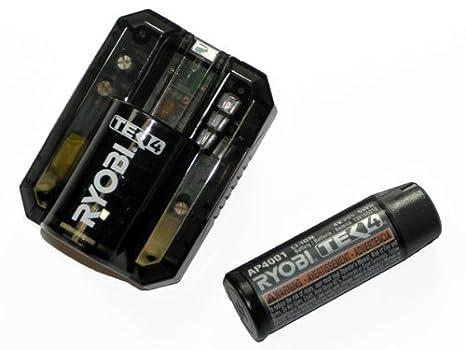 Amazon.com: Ryobi TEK4 Batería y Cargador Combo # tek4-bc ...