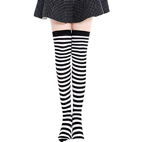 VeaRin Big Girls Tights,Solid Footed Tights Seamless Stockings for Girls