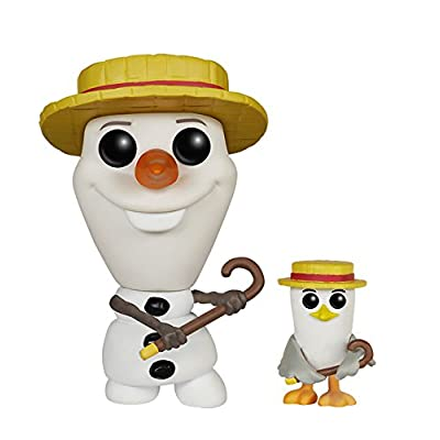 Funko POP Disney: Frozen - New Pose Olaf -2015 SDCC Exclusive Action Figure: Toys & Games