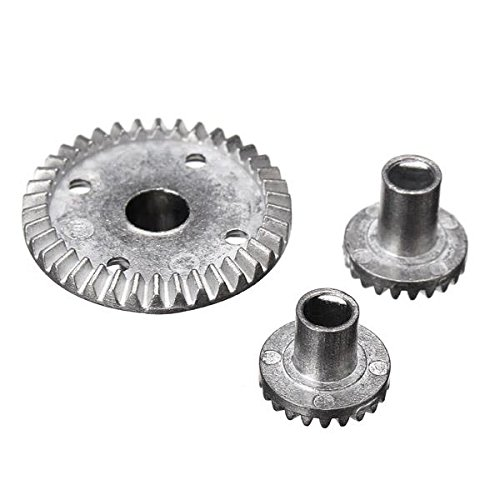38t Gear (HITSAN HBX 1/12 12631 Upgraded Metal 38T Differential Bevel Gears Drive Gear Parts One Piece)