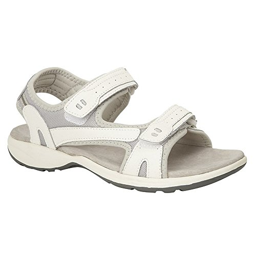Ladies Sandal Womens Fasten Sports Touch White Boulevard FwX5qRnX1