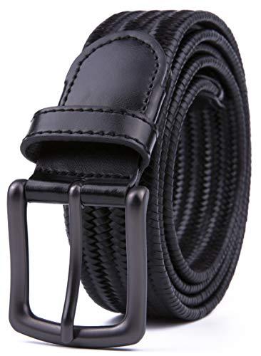 (Mens Belts, Black Belts (L, 2 Black))