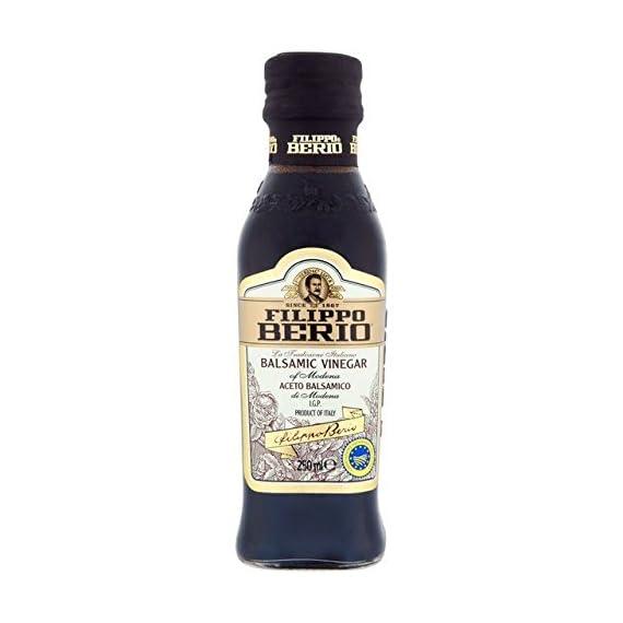Filippo Berio Balsamic Vinegar - 250ml 2 Filippo Berio Baslamic Vinegar Made from Special Selected Grapes