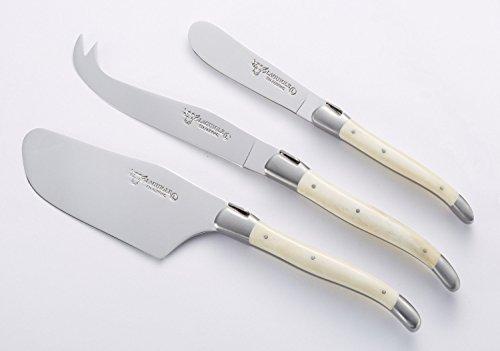 Laguiole en Aubrac Cheese Knives, Bone Handles by Laguiole en Aubrac (Image #2)