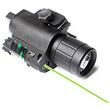 Colybecation Sight Night Vision Scope Sight Hunting Combo Green Dot Laser Sight&Flashlight Light Rail For Rifle/Gun/Handgun