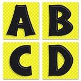 Carson-Dellosa Quick Stick(R) Letters, Black, Pack of 45
