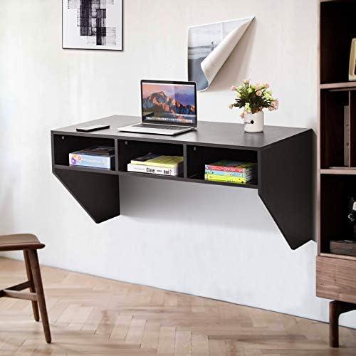 Giantex Wall Mounted Desk Floating Computer Desk