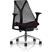 Herman Miller Sayl Task Chair: Tilt Limiter - Stationary Seat Depth - Stationary Arms - Standard Carpet Casters...