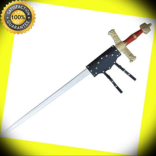 King of Kings Foam Solomon Sword FREE FROG perfect for cosplay outdoor camping ()