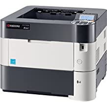 Kyocera 1102T72US0 ECOSYS P3055dn Black & White Network Printer, 5 Line LCD Screen with Hard Key Control Panel, Up to Fine 1200 DPI Print Resolution, Wireless and Wi-Fi Direct Capability