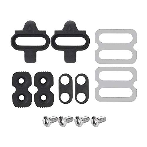 - Ponis-Limos - 1 Set Mountain Bike Accessories Bike Cleats Set for SPD Pedals PD-M520 M540 M324 M545 M424 M647 M959 Bicycle Replacement