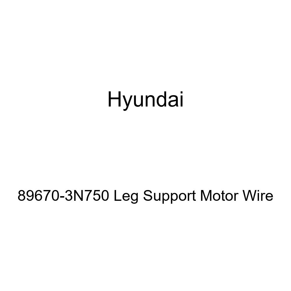 Genuine Hyundai 89670-3N750 Leg Support Motor Wire