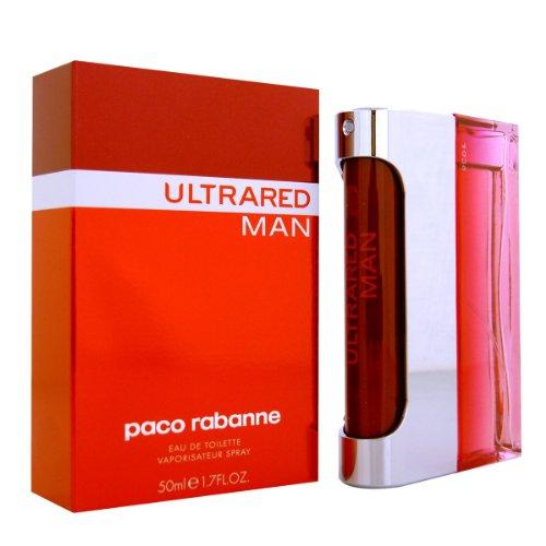 Ultrared by Paco Rabanne For Men. Eau De Toilette Spray 1.7-Ounces