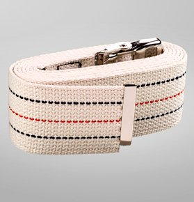 "AT Surgical 48"" Gait Belt / Transfer Belt, Cotton, Mixed Colors and Patterns (Americana)"
