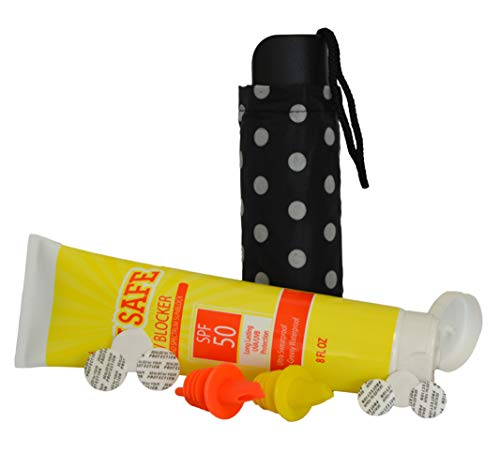 BoozeBrella and Sunscreen Flask w/Lid Seals & Speed Pourers by Smuggle Mug