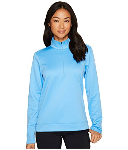 Therma Fit Jacket - Nike Therma Fit Half Zip Fleece Golf Jacket 2017 Women University Blue/White X-Large