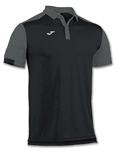 Joma - Polo Comfort Negro m/c para Hombre: Amazon.es: Ropa y ...
