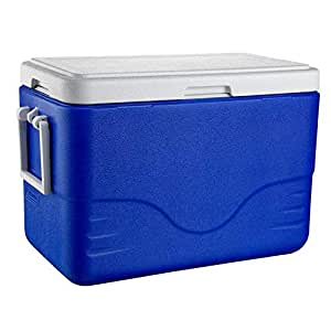 Caixa Térmica 28 QT (26,5 L), 36 Latas, Coleman, Azul