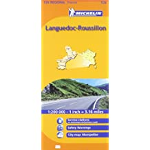 Michelin Languedoc-Roussillon 526 Regional France