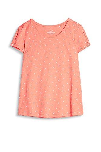 edc by Esprit 067cc1k070, Camiseta para Mujer Naranja (Coral Orange 870)