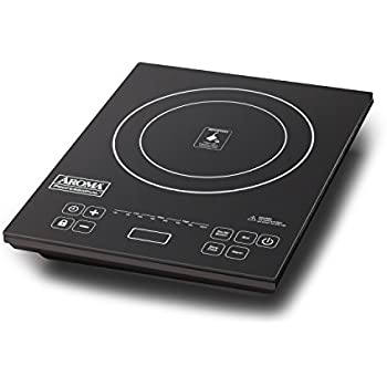 Aroma Housewares  AID-513FP Professional Induction Cooktop and Frying Pan, Black