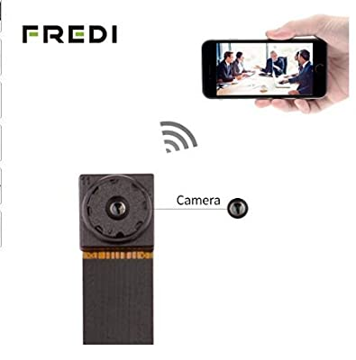 SpyGear-FREDI HD Mini Super Small Portable Hidden Spy Camera P2P Wireless WiFi Digital Video Recorder for IOS iPhone Android Phone APP Remote View - Jinbaixun Technology