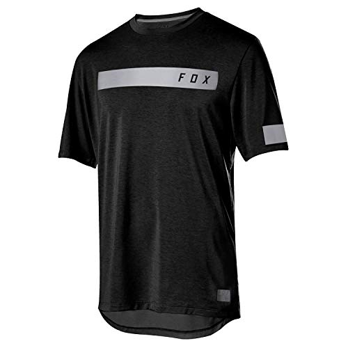 Fox Racing Ranger Dri-Release Bar Short-Sleeve Jersey - Men's Black, L