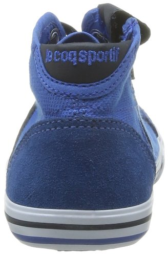 Blue Pique mixte Malo Ps enfant Olympian Baskets mode Cotton Coq Sportif Le Saint Mid Bleu wYC116