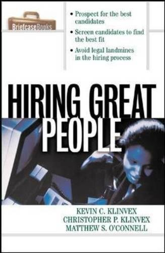 Hiring Great People (Training People)