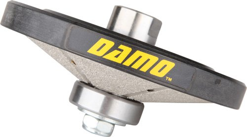 DAMO Hollywood Bevel Diamond Hand Profiler / Router Bit with 5/8-11 Thread for Sink Rims / Countertop by DAMO