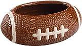 "KOVOT Football Dip Bowl Dish | Ceramic Football-Shaped 23 Ounce Bowl | Measures 7"" x 5"" x 3"""