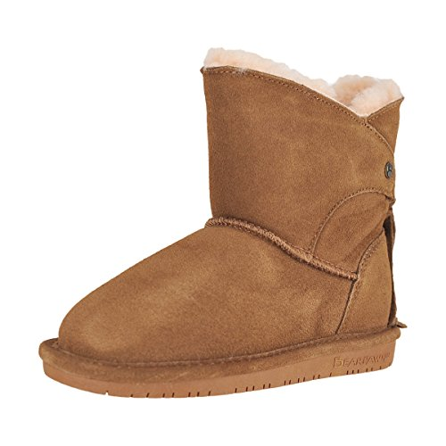Hickory Fusion (Bearpaw Youth Hickory II Kids Girls Winter Boot Size 10M)