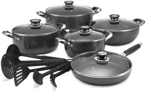 Concord 16 Piece Nonstick Aluminum Cookware Set