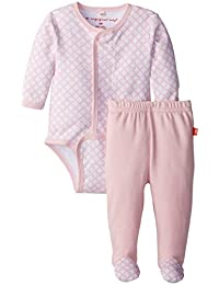 Magnificent Baby Baby-Girls New-Born Long Sleeve Burrito and Pants