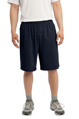 Sport-Tek Men's Jersey Knit Short with Pockets 4XL True Navy