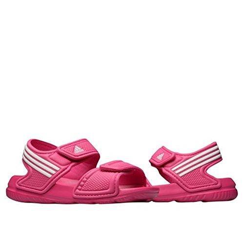 adidas Unisex-Kinder Akwah 9 C Dusch-& Badeschuhe Rosa