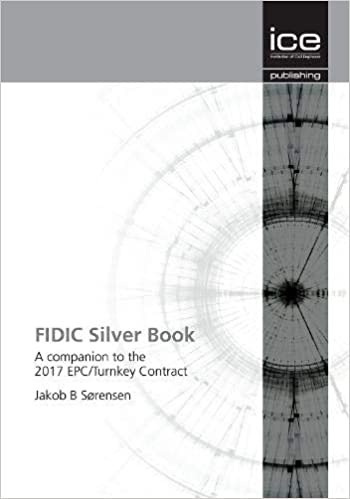 turnkey fidic epc silver contract book