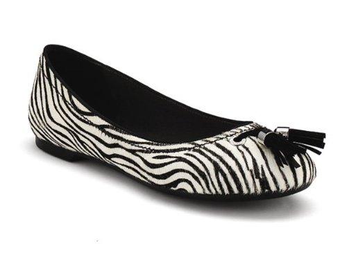 Zebra 6 Pony White Sperry Womens Black Bliss gYIY6