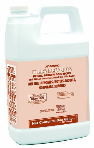 JT Eaton 204-O1GP Oil Based Kills Bedbug Spray with Sprayer Attachment, 4 Gallon Container by J T Eaton