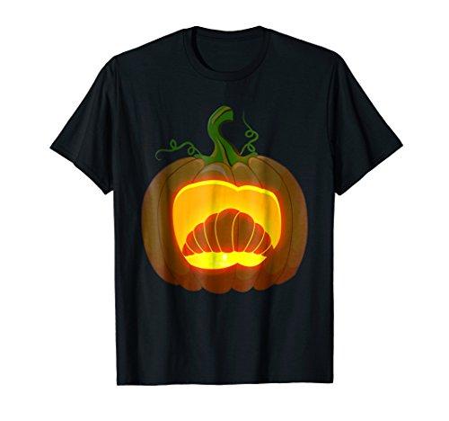 (croissant Halloween shirt)