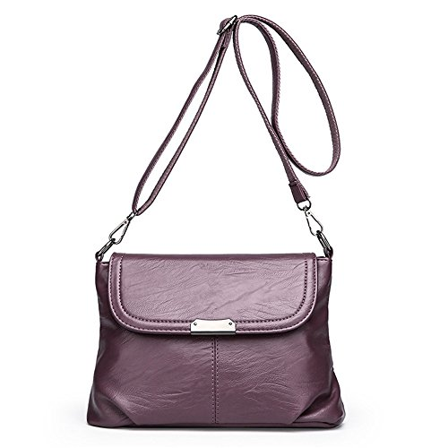 Meaeo Single Bag Shoulder Bag New Leather Simple Little Package, Bronze Colored Bronze