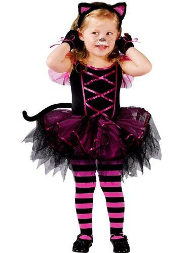 (Fun World Catarina Ballerina Toddler Costume,Black /)
