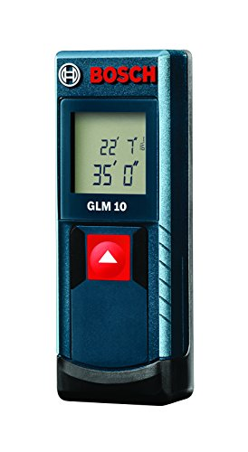 Bosch GLM 10 Compact Laser Measure, 35' (Discontinued by Manufacturer)