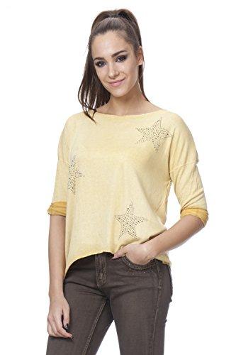 TANTRA, Camiseta para Mujer Amarillo