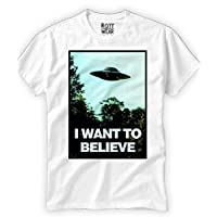I WANT TO BELIEVE X FILES MULDER PLAYERA ROTT WEAR