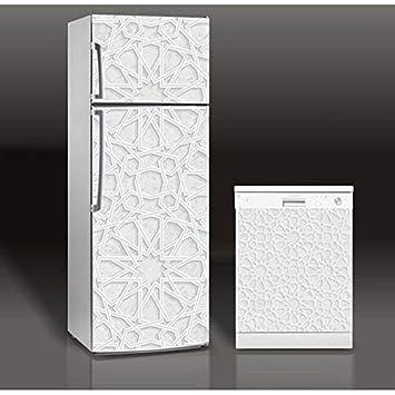 Cristalería rota 3D autoadhesiva lavaplatos refrigerador zer ...