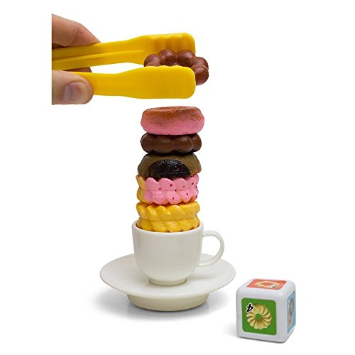 Stacking Cookie Doughnut Balancing Game for Kids The Best Welcome Gift For The children ()