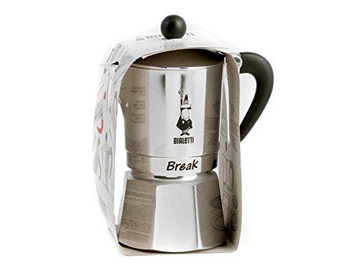Bialetti 5923 Break Universal Espresso Maker, Black