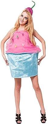 SHANGLY Halloween Disfraz Helado de Cosplay Tela Suave Jumpsuit ...